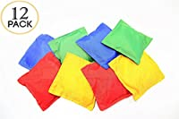 Nylon Bean Bags Toy Assorted 12 pc 5x5in by Oojami