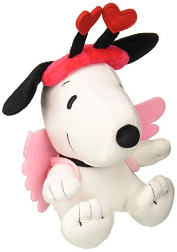 Snoopy Valentines Day (Hallmark 6MJV3572 Snoopy Plush Cupid,)