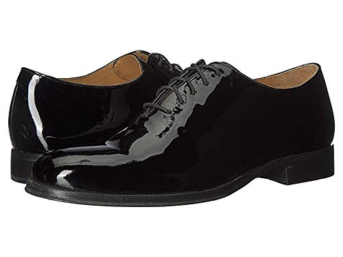 (Cole Haan Men's Gramercy Wholecut Dress Oxford Black Patent 10 D)