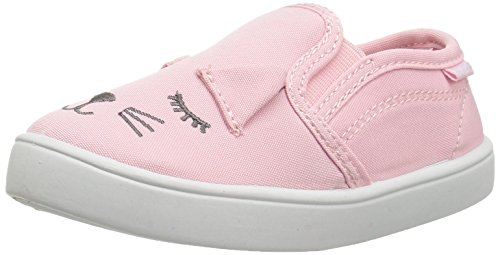 carter's Girls' Tween6 Novelty Slip Loafer, Pink, 10 M US Toddler