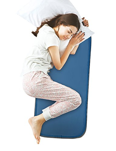 Cool Care Technologies Cool Flash Sleeping Gel Body Pad Feel Cooler While You Sleep - Pressure-Activated Cooling Gel Technology, No Water or Electricity Required - Mat Recharges Automatically