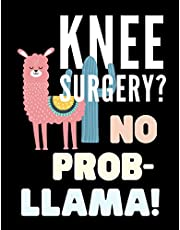 Knee Surgery? No Prob-LLama!: Funny Knee Replacement Surgery Recovery Blank Word Search Adults Puzzle Book Activity Books Gift Ideas for Man Woman, Get Well Presents Card Alternative