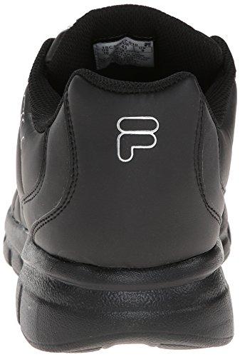 3 Metallic ginnastica Fila Scarpe Fulcrum Black Black Sintetico Silver TfpH4pxn