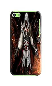 Charming design tpu phone case cover with lovely pattern for iphone 5c of Assassin's Creed in Fashion E-Mall