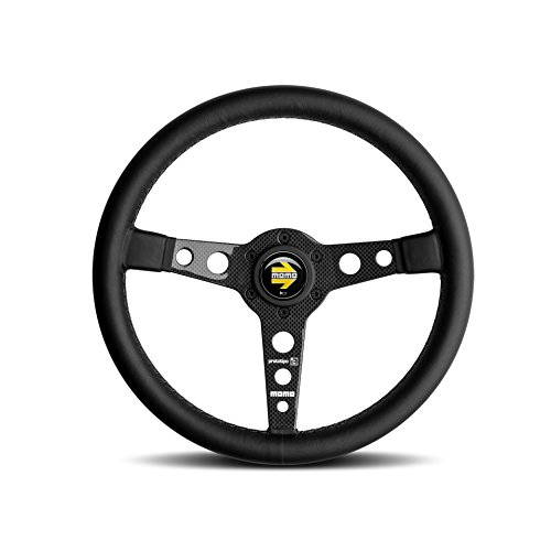 MOMO Prototipo 6C Carbon Steering Wheel Black 350mm PRO35BK1C (Leather Prototipo)
