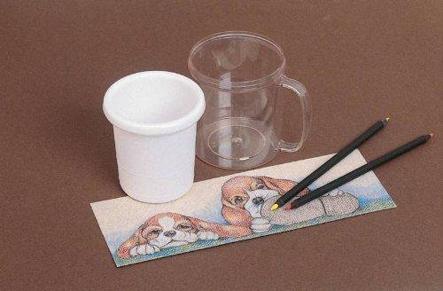 Neil Enterprises NE522 Snapins Snap Together Custom Craft Mug, 11 oz. Capacity, 4.9