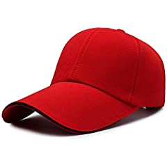 Introducing the best quality simple fashion hat on AmazonMJHZQ's hat features a classic and timeless flat-top hat that offers a low-key style and unparalleled quality.Simple, timeless, classic.Our blank caps create a minimalist style that you...