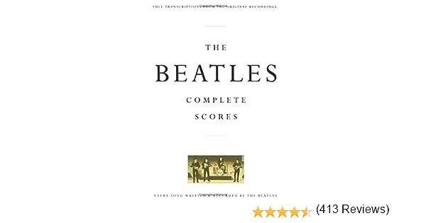 BEATLES COMPLETE SCORES BOX: Amazon.es: Beatles: Libros en idiomas ...