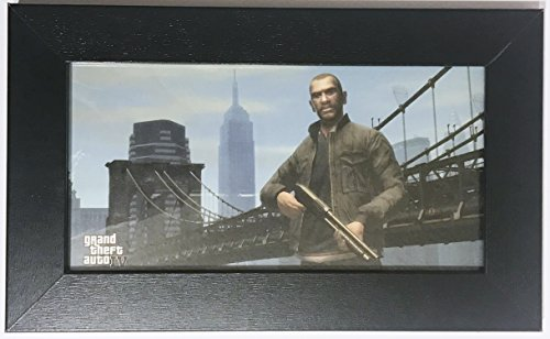 Grand Theft Auto Collectors Edition (Limited Edition BlockBuster Exclusive Grand Theft Auto IV Framed Art)