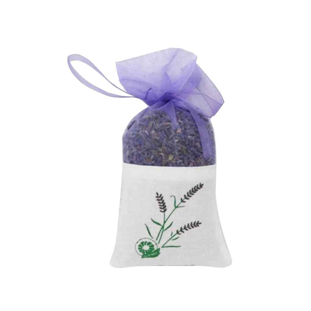 Zerama Real Lavender Organic Dried Flower Sachets Bud Bloom Bag Home Office Scent Fragrance Dry Lavender