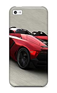 (JtTQHqg2426GQlVw)durable Protection Case Cover For Iphone 5c(lamborghini Aventador J 16)