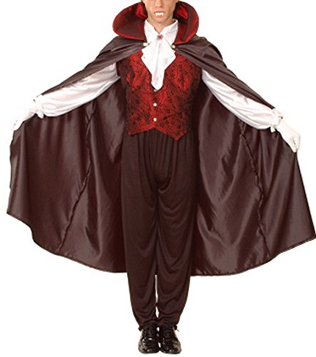 Tween Creature Costumes Set (LETSQK Men's Adult Halloween Theme Party Cosplay Bloody Gauze Demon Vampire Costumes Vampire)