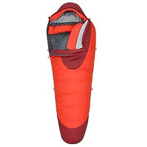 Kelty Cosmic 0 Degree Sleeping Bag, Long, Fiery Red/Garnet