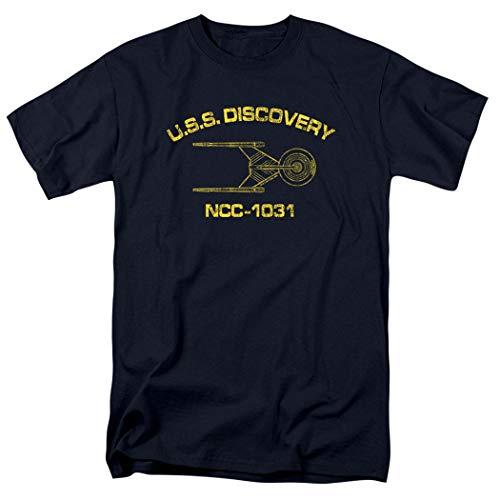 Popfunk Star Trek U.S.S. Discovery Athletic T Shirt & Stickers