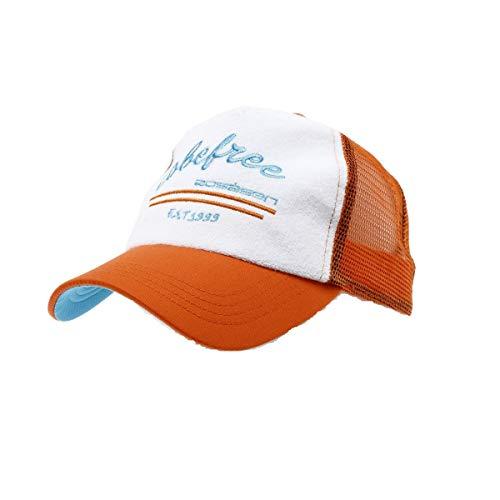 ロサーセン ゴルフ キャップ パイルメッシュキャップ ラウンディッシュ 046-57430 35オレンジ 50