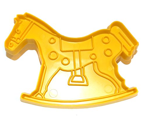 Vintage Stanley Home Products Rocking Hobby Horse Shaped Christmas Cookie Cutter - Hobby Rocking Horse