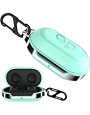 HALLEAST Galaxy Buds Case Cover, TPU Hard Protective Earbuds Case for 2019 Samsung Galaxy Buds Case (Support Wireless Charging), Mint Green