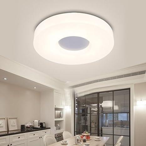 Lightinthebox moderncontemporary round ceiling lightsflush mount lightinthebox moderncontemporary round ceiling lightsflush mount led lighting fixture light source aloadofball Images