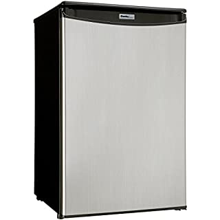 Danby DAR044A5BSLDD Compact Refrigerator, Spotless Steel Door, 4.4 Cubic Feet (B00O2MB7BS)   Amazon price tracker / tracking, Amazon price history charts, Amazon price watches, Amazon price drop alerts