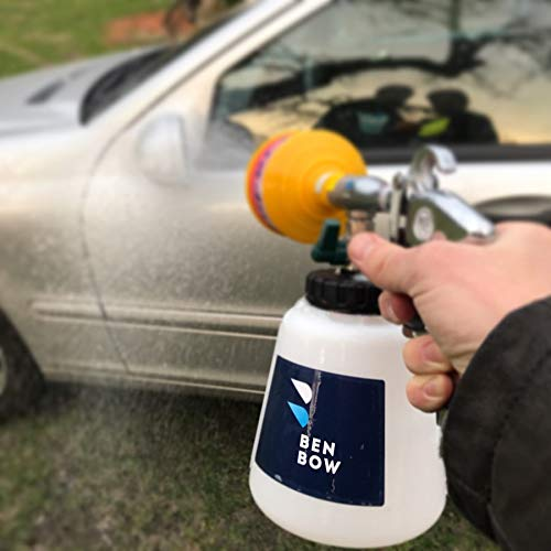 Pistola de limpieza de espuma de Benbow Air Foamer: Amazon.es: Coche y moto
