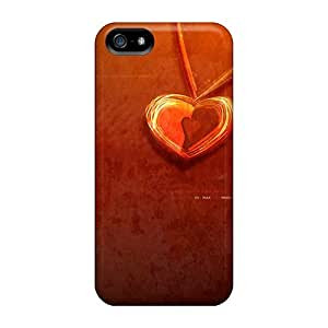 Iphone 5/5s Osy2280YrjH Red Love Iphone4 Tpu Silicone Gel Case Cover. Fits Iphone 5/5s