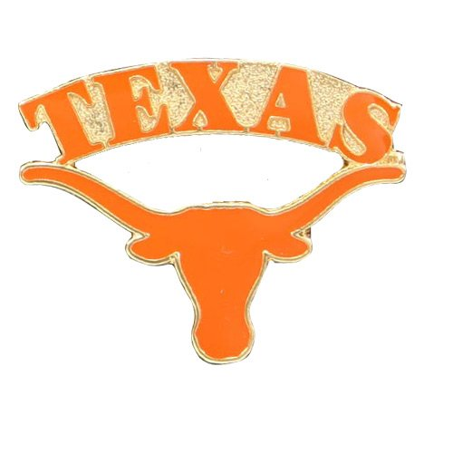 NCAA Texas Longhorns Logo Pin (Texas Longhorns Pins)
