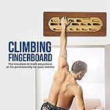 Yes4All Wooden Rock Climbing Hangboard/Wood