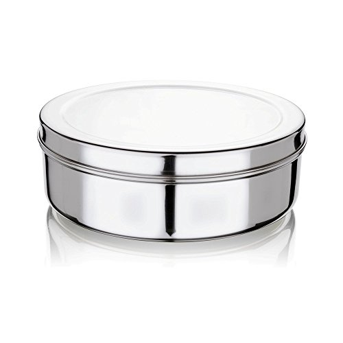 Bhalaria – 183046 Stainless Steel Puri Dabba, 1.5 Litres/18.5cm, Silver Price & Reviews