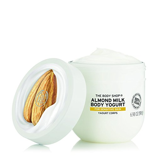 Price comparison product image The Body Shop Almond Milk Body Yogurt, 48hr Moisturizer, for Sensitive and Dry Skin, 100% Vegan,6.98 Fl.Oz