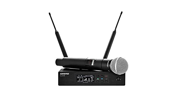 SHURE QLXD2-H50 534-598 MHz SM58 Wireless Handheld Microphone for QLXD4 H50 Band