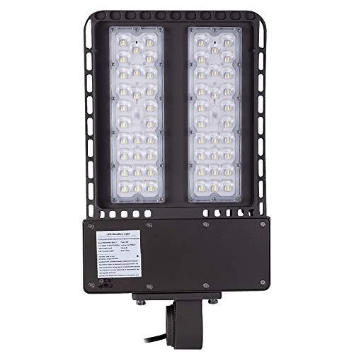 1000LED LED Shoebox Light, 150W 18,000 Lumens (450W HID Eq.), Daylight 5000K, AC100-277V, Waterproof IP65, Street Light, Area Light