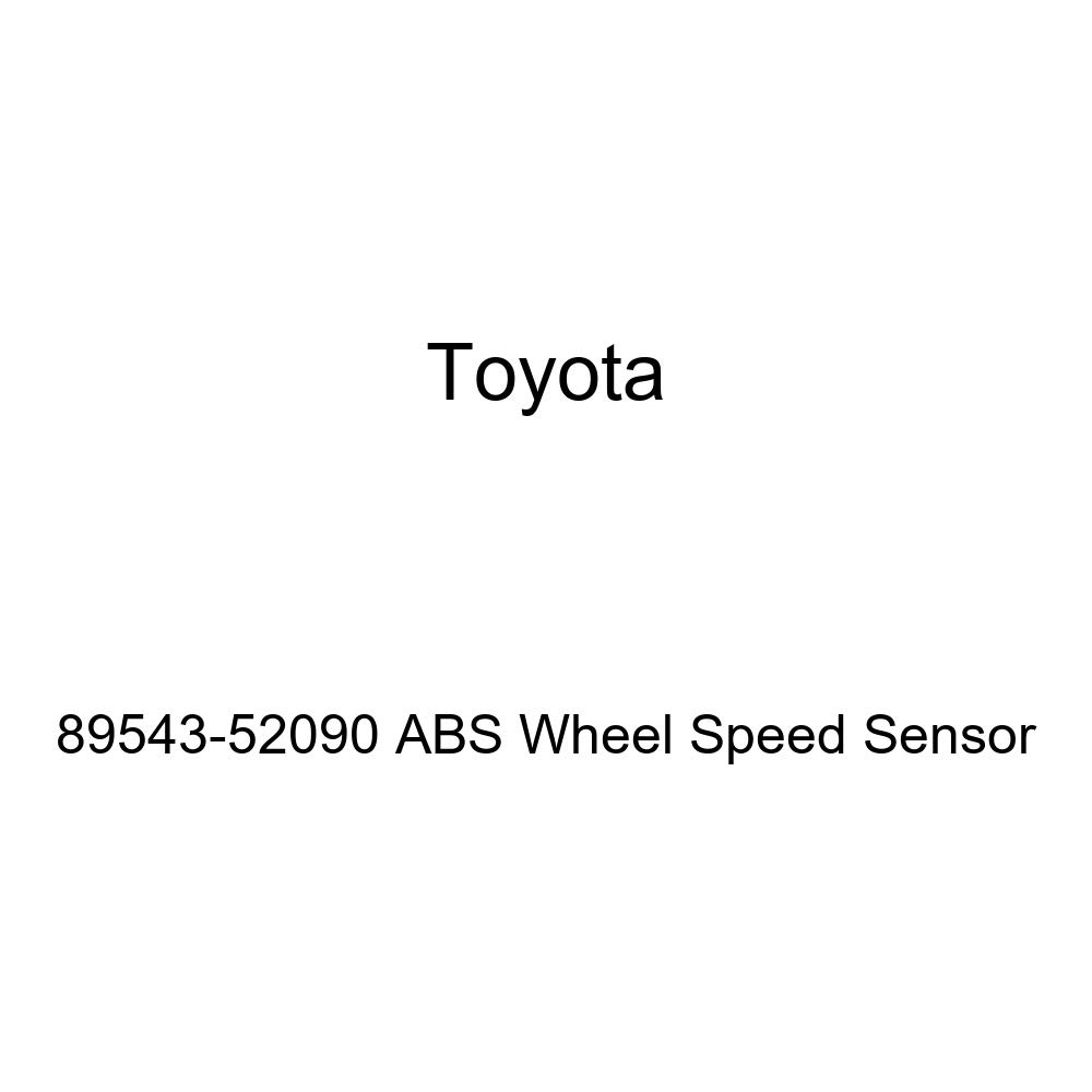 Toyota 89543-52090 ABS Wheel Speed Sensor