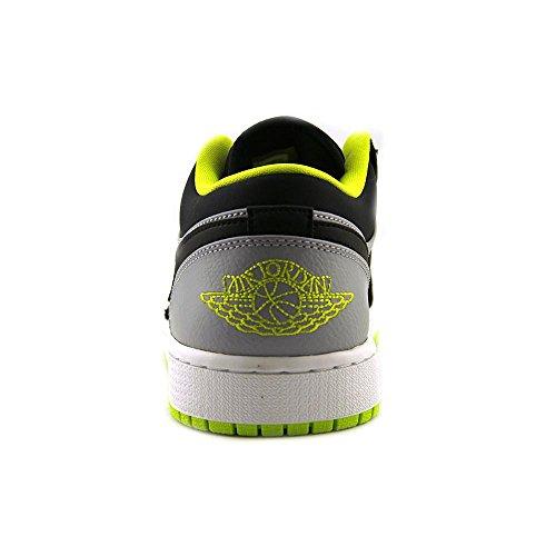 Nike Men Jordan Air Jordan 1 Scarpa Da Basket Bassa, Blackgrey, 11,5 Dm Us