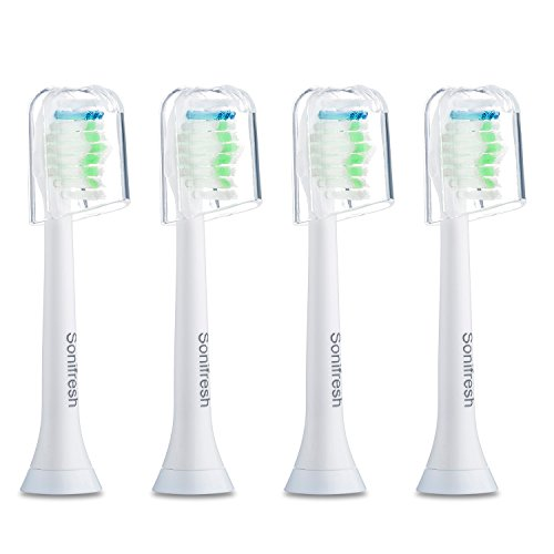 Price comparison product image Sonifresh Toothbrush Heads, DiamondClean Sonic Replacement Heads For Philips Sonicare Electric Toothbrush,4 Pack