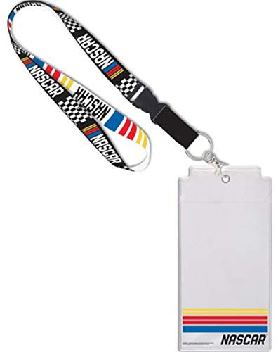 (WinCraft NASCAR Premium Lanyard with Credential Holder)