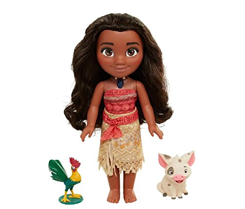 Disney Toys For Girls Singing Moana Adventure Doll with Frie