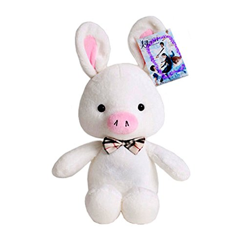 "Pig Rabbit Plush with Bendable Ears  : Korean Drama K-pop ""Y"