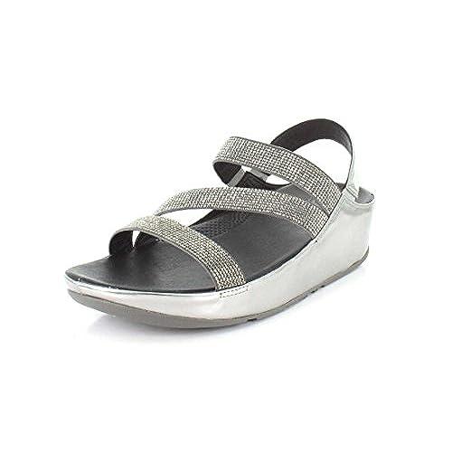 dd4db7fc05cc8 FitFlop Womens Crystall Z-Strap Sandal free shipping - appleshack.com.au
