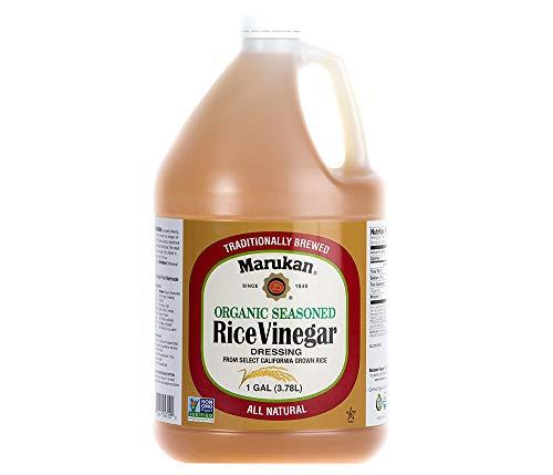 Marukan Organic Seasoned Rice Vinegar dressing, 1 Gallon