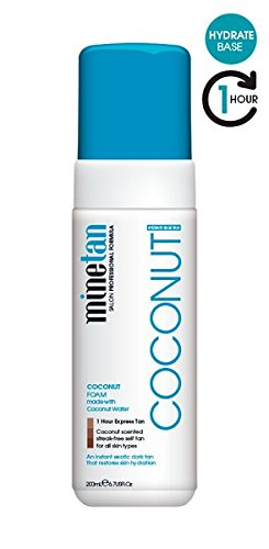 Coconut Water Based Long Lasting Self Tanner (Self Tan Fast Dry Bronze)