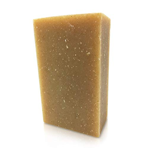Patchouli Shampoo Bar, Organic, 4 oz to wash and get clean healthy hair and beard, made in USA by Bare Essentials Living (Eco 4 Soap Ounce)