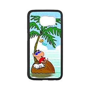 Samsung Galaxy S6 Cell Phone Case White Crayon Shin-chan Generic Phone Case Cover For Girls CZOIEQWMXN31951