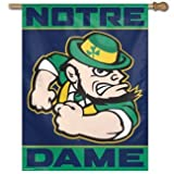 Notre Dame University Banner Flag