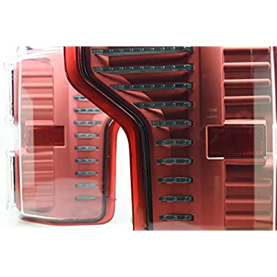 Morimoto XB LED Plug & Play Tail Light Assemblies Compatible with 2015-2020 Ford F-150 (Smoked (w/ 2020+ Harness)): Automotive