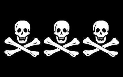 Michael Rene Pflüger Barmstedt Autoaufkleber Pirat Totenkopf Skull Sticker Auto Aufkleber Auto