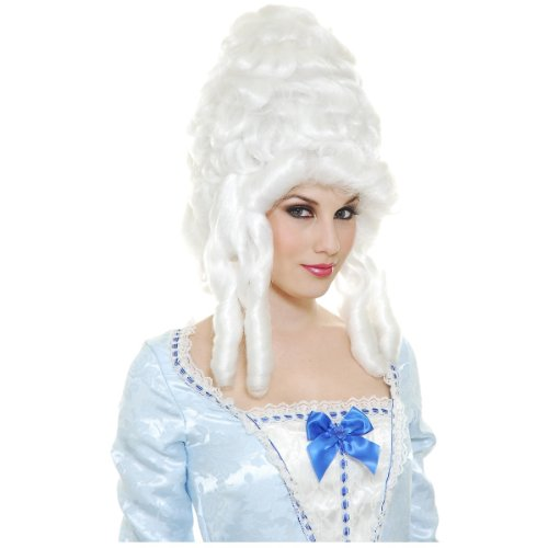 Colonial Woman Wig Costume Accessory (Marie Antionette Wigs)