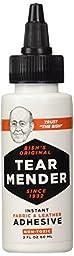 Tear Mender TG-2  Bish\'s Original Tear Mender Instant Fabric and Leather Adhesive, 2 oz Bottle