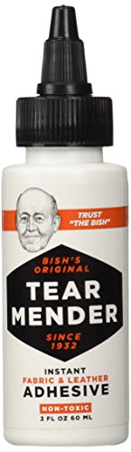 Tear Mender Instant Fabric and Leather Adhesive, 2 oz Bottle, TG-2]()