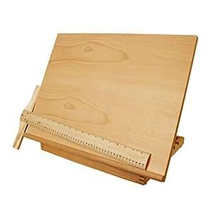 US Art Supply Adjustable Wood Artist Drawing & Sketching Board