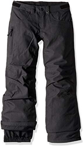 Burton Boys Barnstorm Pant, Black Denim, Medium (Snowboard Black Pants)
